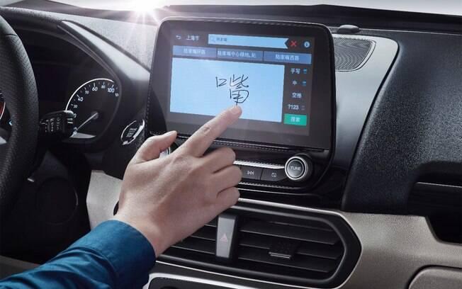 Interior mais caprichado vai incluir sistema multimídia Sync 3, com tela de 8 polegadas sensível ao toque
