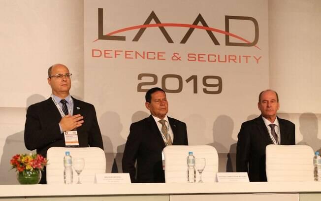 Wilson Witzel participou de evento sobre segurança e defesa nesta terça-feira (02)