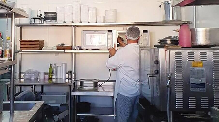 Dark kitchen do Divino Fogão em Guarulhos (SP)