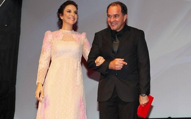 Ivete Sangalo e Humberto Martins no prêmio Profissionais do Ano