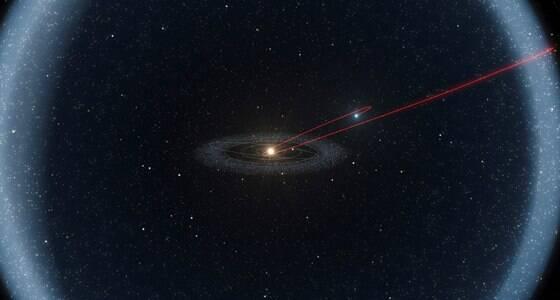 Astrônomos descobrem cometa sem cauda