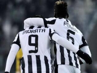 Morata fez o gol que garantiu a classificação à Juventus