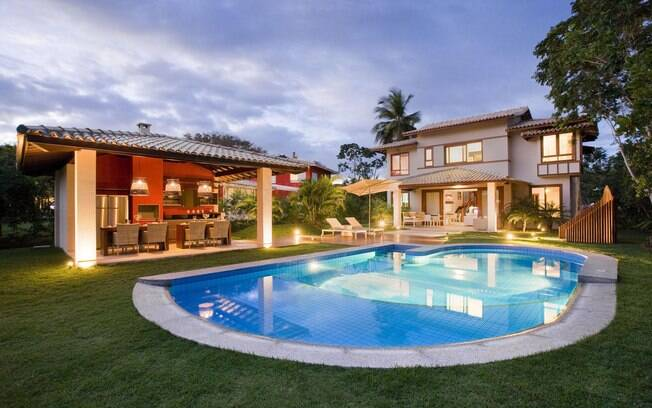 Como ter uma piscina em casa arquitetura ig for Piscinas para casas