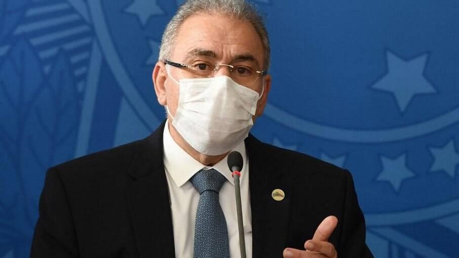 Ministro da Saúde, Marcelo Queiroga: