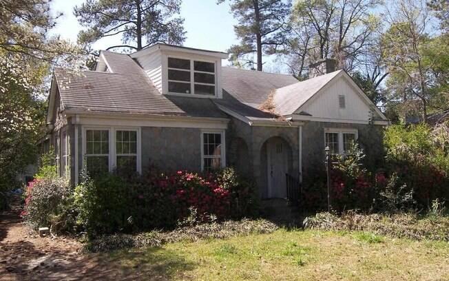 A casa 'assombrada' fica na Carolina do Sul e foi disponibilizada para aluguel pela imobiliária