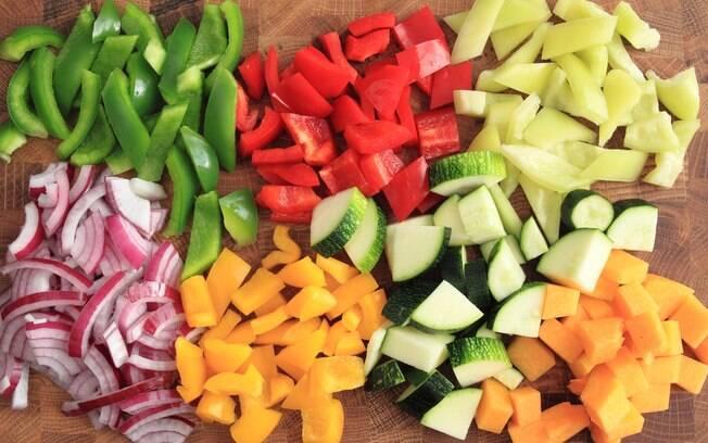 Corte de legumes paysanne