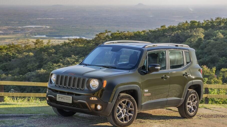 Jeep Renegade também aparece entre os modelos de destaque nas vendas online de SUVs seminovos