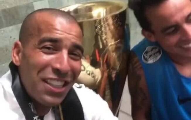 Emerson Sheik provocou o Palmeiras