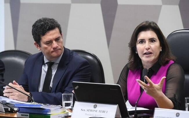 Sergio Moro e Simone Tebet