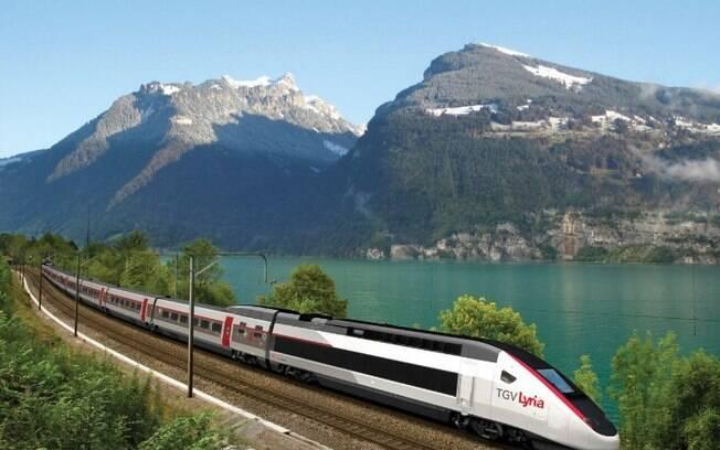 Monte um roteiro e conheça várias cidades de trem na Europa