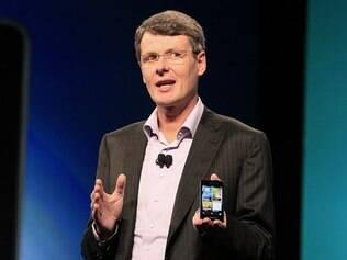 Heins e o novo BlackBerry 10: aparelhos atuais não terão upgrade