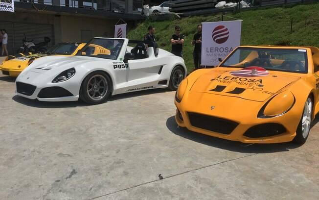 O evento contou com a participação dos novos Puma, com visual arrojado e motor 2.4 turbo de 180 cv
