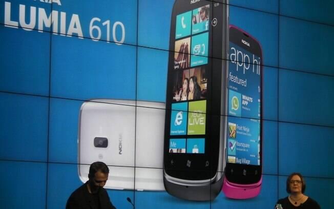 Lumia 610 é smartphone com Windows Phone e preço baixo, para países emergentes
