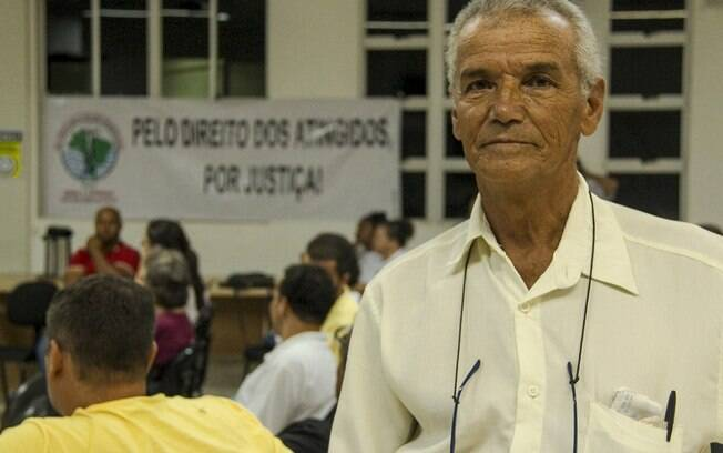 Antônio Paulorinho precisou se mudar para o centro de Brumadinho e hoje só consegue visitar a antiga casa