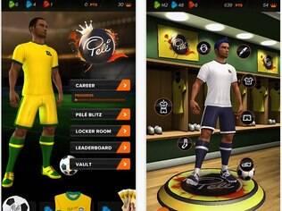 Pelé King of Footbal é app grátis sobre o Rei do Futebol