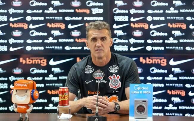 Jogo será a estreia de Mancini pelo Corinthians