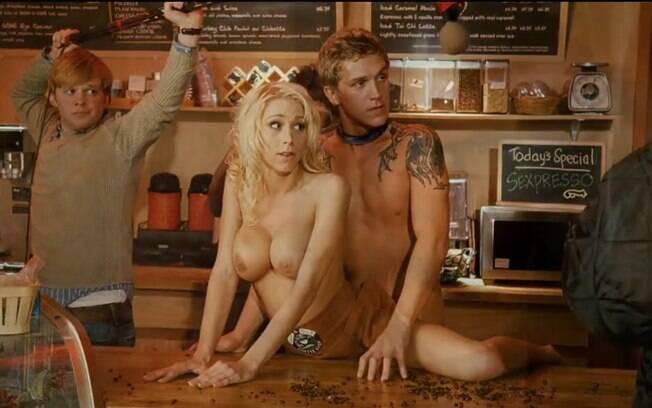 Katie Morgan em sua participação no filme de Kevin Smith