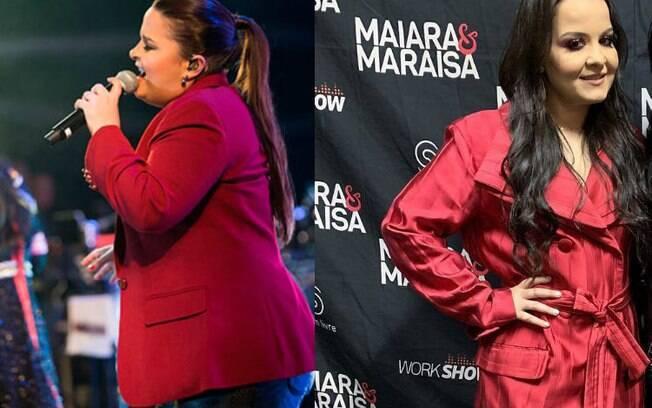 Ainda nas dietas dos famosos, a sertaneja Maiara, da dupla com Maraisa, fez uma cirurgia bariátrica