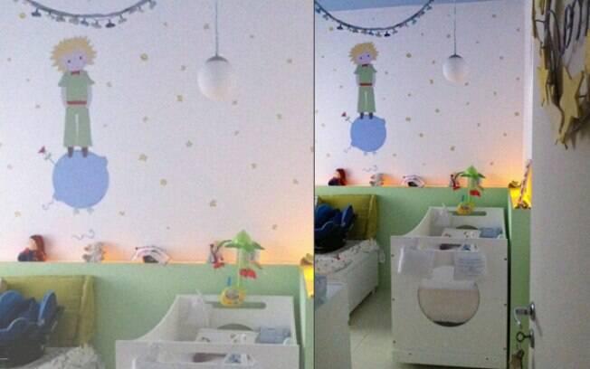 Quarto Infantil O Pequeno Principe ~  Decora??o Quartinho de Beb? de Menino  Tema Pequeno Pr?ncipe