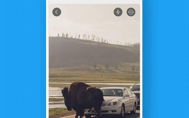 Twitter lança nova função nesta quarta-feira (13), que permite compartilhar fotos e vídeos em tempo real