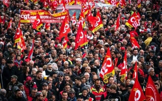 Manifestações ocorrem há 22 dias na França