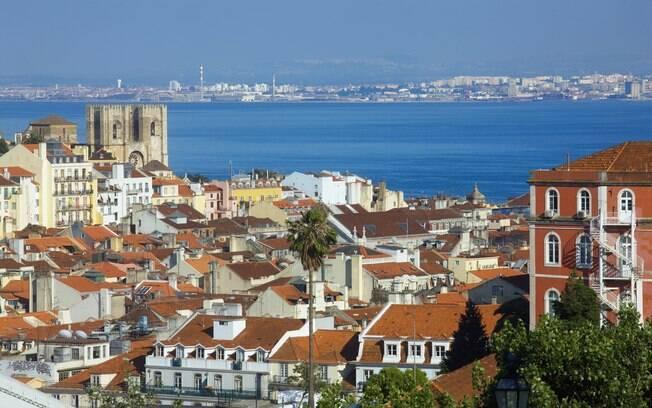 Vista da capital portuguesa