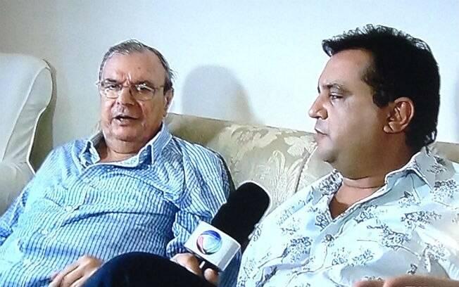 Gil Gomes no 'Domingo Show'