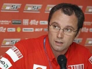 Stefano Domenicali, chefe da equipe italiana, disse que é fundamental escuderia esquecer o que houve