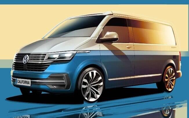 VW Transporter California terá novidades estéticas por dentro e por fora, além de itens sofisticados