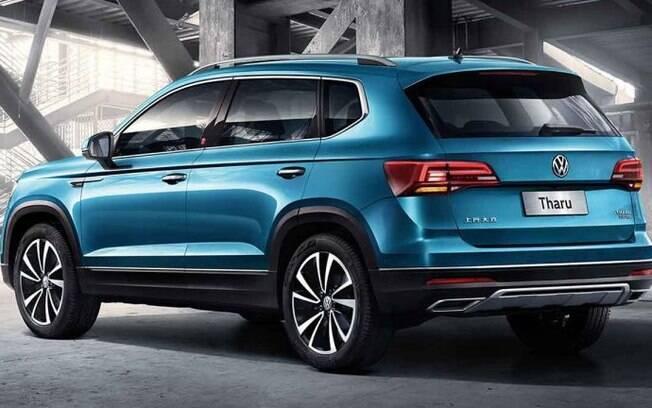 VW Tarek terá o mesmo estilo nos atuais SUVs da marca, entre os quais o Tiguan AllSpace, vindo do México