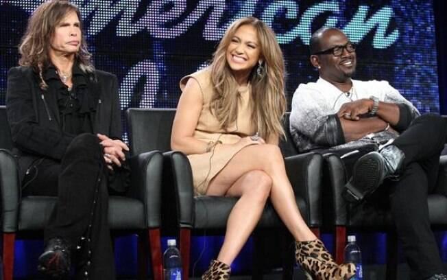 Steven Tyler, Jennifer Lopez e Randy Jackson