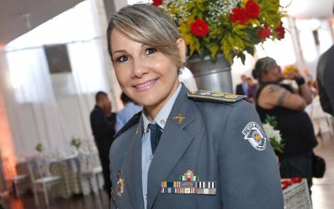 Tenente Coronel PM Carla Danielle Basson, candidata a Vice-Governadora do Estado de São Paulo na chapa de Paulo Skaf