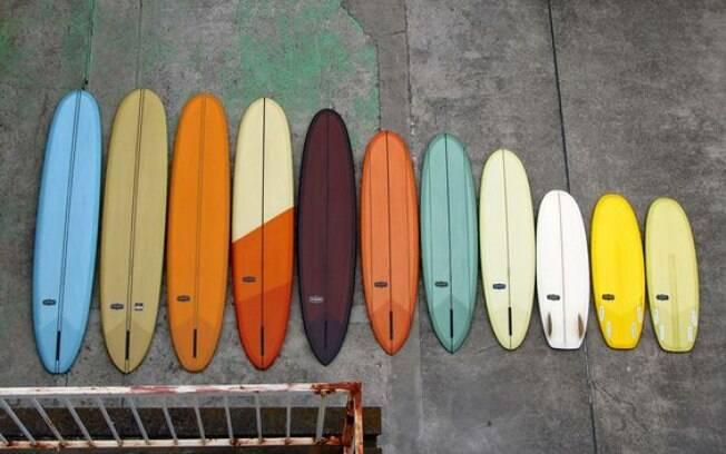 De pranchinha a longboard, há pranchas para todos os gostos e estilos