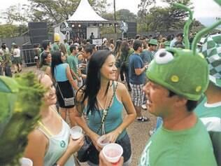 Associação reclama de festa em parque