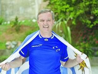 Azul de coração. Uruguaio Gustavo Altieri já gostava do Cruzeiro e torce pelo sucesso de Arrascaeta