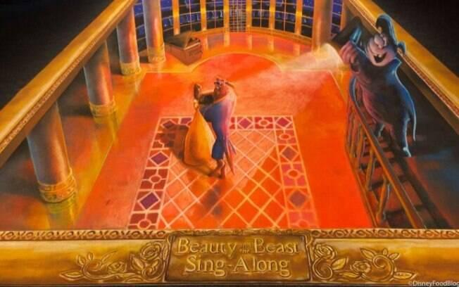 Beauty & the Beast Sing-along será inaugurado em 17 de janeiro no Epcot