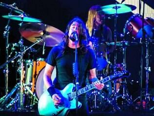 Delírio. Com suor e muito rock, Dave Grohl e companhia deram início à turnê do Foo Fighters no Brasil
