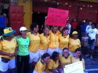 Delicinhas team beat Peladas Futebol Clube 7 to 6