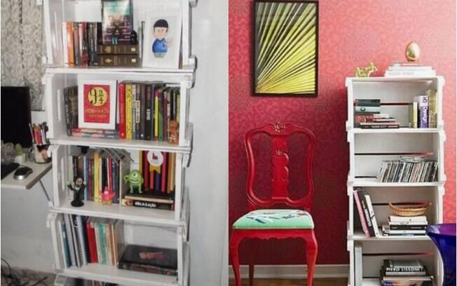 6 ideias em alta no Pinterest para montar estante de livros