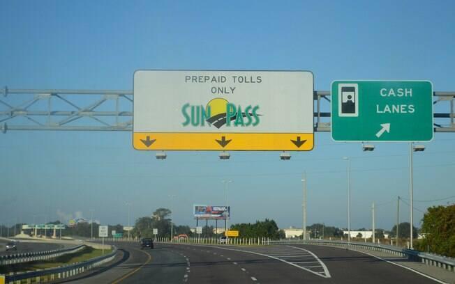 Além dos valores que não ultrapassam os US$ 1,05, o SunPass ainda oferece desconto de 20% no pedágio