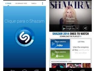 Disponível para Android, iOS, Windows Phone e também para PC com Windows e para Mac, o Shazam é um app gratuito que reconhece músicas e programas de TV pelo som
