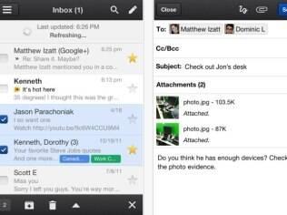 Novo aplicativo do Gmail para iPhone ganha opção de armazenar fotos