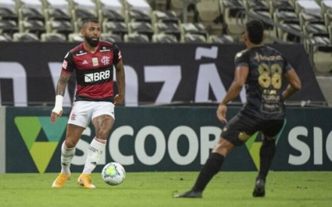 Flamengo perde para o Sport