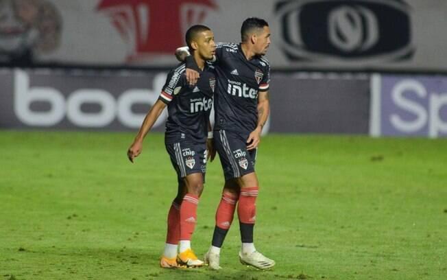 Brenner e Luciano são peças fundamentais no time de Fernando Diniz
