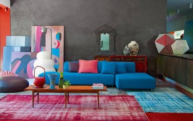 Os tapetes na decoração de casa trazem charme e aconchego aos ambientes