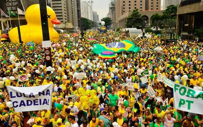 protesto fora dilma paulista