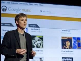 Michael Siliski, gerente de produto do Google, apresentou a Google Music Store