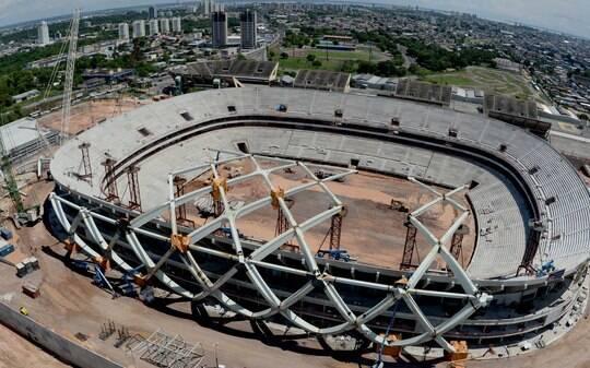 Nacional-AM lamenta não ter arena da Copa de 2014 pronta