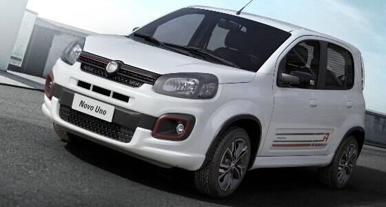 Fiat revela visual do Uno 2017; veja as mudanças