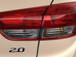 Logotipo 2.0 no Hyundai Creta vendido no Brasil